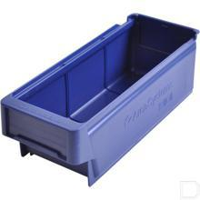 Magazijnbak blauw 300x115x100mm productfoto