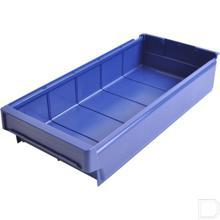 Magazijnbak blauw 500x230x100mm productfoto