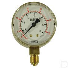 "Manometer CO² 0-28/30L 1/4"" productfoto"