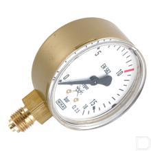 Manometer Zuurstof 0-16bar productfoto