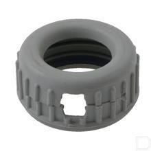 Rubberen ring zwart productfoto