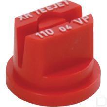 Spleetdop XR kunststof spuithoek 110° rood  productfoto