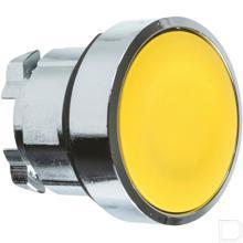 Drukknop geel gearreteerd productfoto