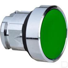 Drukknop groen gearreteerd productfoto