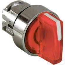 Signaalkeuzeschakelaar rood 3 standen productfoto