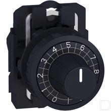 Potentiometer knop en voet productfoto