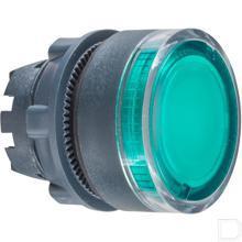 Signaaldrukknop groen productfoto