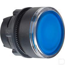 Signaaldrukknop blauw productfoto