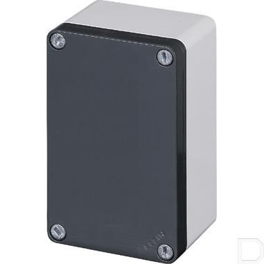 Aluminium drukknopkast productfoto