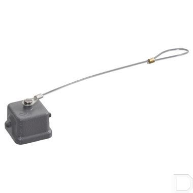 Afdekkap 3A v penconnector metaal productfoto
