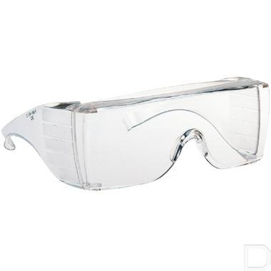 Overzet veiligheidsbril Armamax AX1H krasvast productfoto