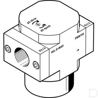 Inschakelventiel HEL-1/2-D-MIDI productfoto