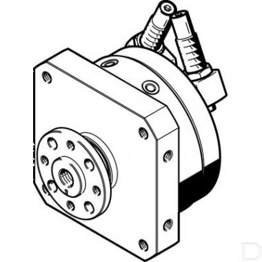 Zwenkaandrijving DSM-12-270-CC-FW-A-B productfoto
