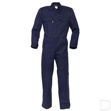 Overall Basic katoen / polyester maat 58 / XXL marineblauw productfoto
