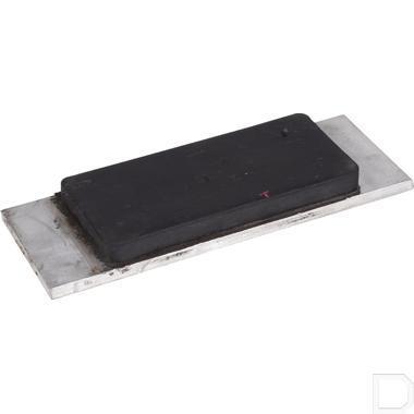 Plaat rubber/aluminium 120x170x16mm productfoto