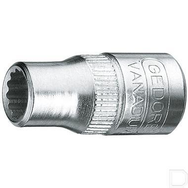 "Dopsleutel 1/4"" 4-kant met dop 12mm 12-kant  productfoto"