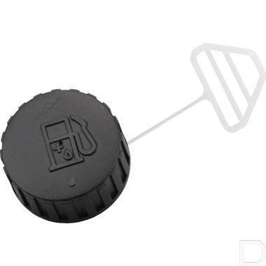 Tankdop D zwart productfoto