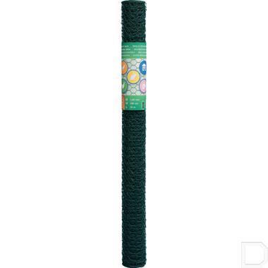 Hexnetting gaas R25mm Ø1mm 50cm 25m groen productfoto