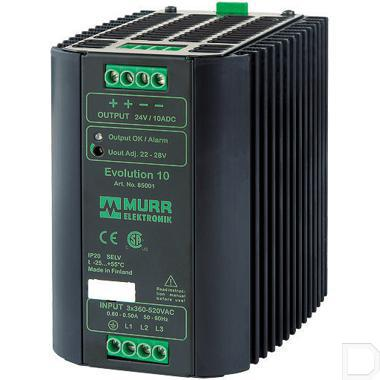 Voeding 400VAC/24VDC 10A productfoto