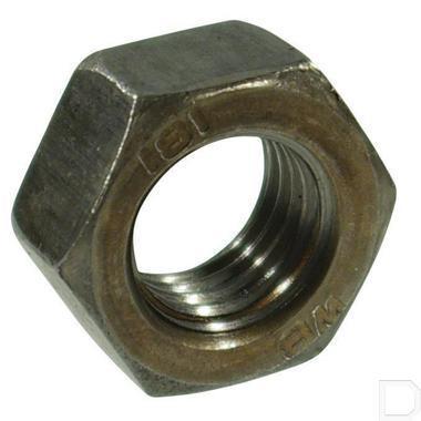 Zeskantmoer M24X1,5 zwart DIN934 productfoto
