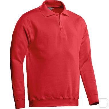 Polosweater Robin rood maat 3XL productfoto