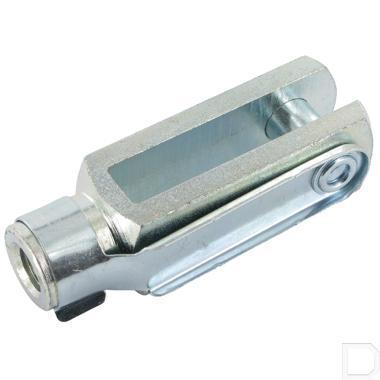 Gaffel met clip M8x16mm productfoto