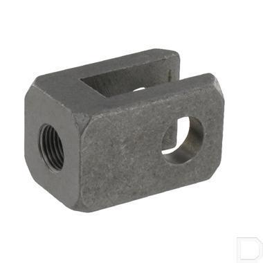 Gaffel boring ø16,2mm hoogte 55mm 35x35mm met draad productfoto
