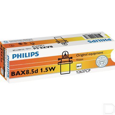 Gloeilamp 12V 1,5W B8.5D beige productfoto