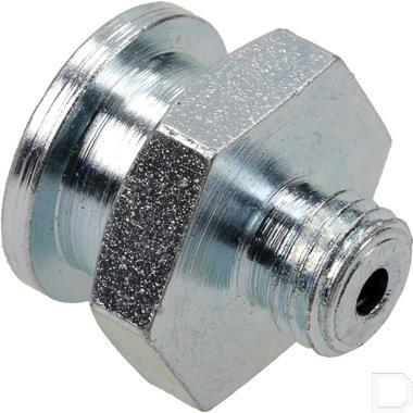 Vlak smeernippel M8x1 16mm productfoto