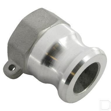 "Camlock snelkoppeling A 3/4"" binnendraad Aluminium productfoto"