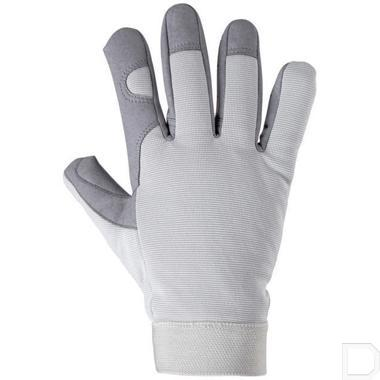 Handschoen Sport maat 8 / M wit / grijs productfoto