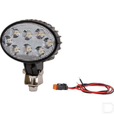 LED Werklamp 24W 1200lm - breedstraler productfoto