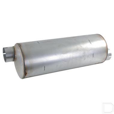 Uitlaat demper 102mm L=851mm productfoto