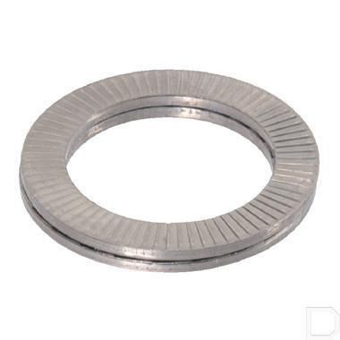 D-Lock borgring RVS A4 M27 productfoto