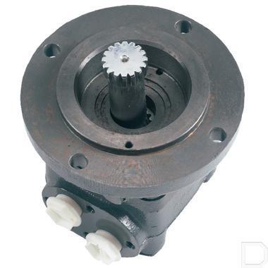 Orbitmotor OMTS 315cc/omw splineas 16t Ø40mm kort met lekaansluiting productfoto
