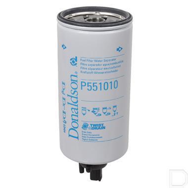 """Brandstoffilter waterafscheider 1"""" - 14UN Ø107mm H=263mm productfoto"""