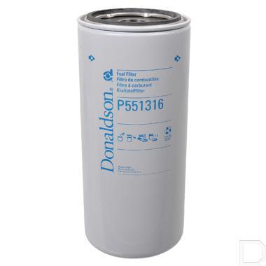 """Brandstoffilter 1.3/8"""" - 16UN Ø136mm H=310mm productfoto"""