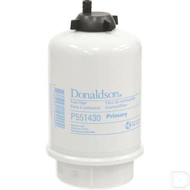 Brandstoffilter waterafscheider Ø23x80mm H=154mm productfoto