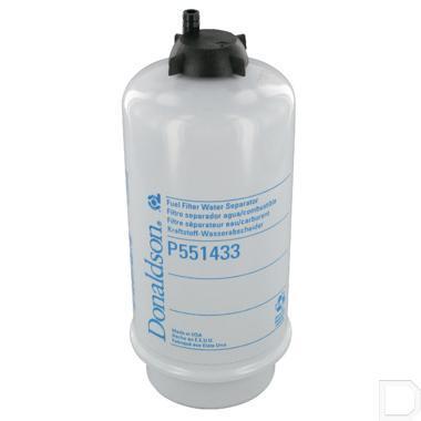 Brandstoffilter waterafscheider Ø23x80mm H=196mm productfoto