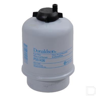 Brandstoffilter waterafscheider Ø23x80mm H=135m productfoto