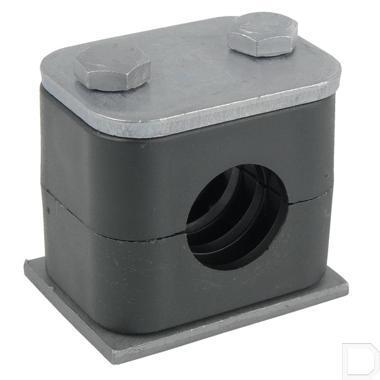 Pijpklem compleet 28mm 25stuks productfoto