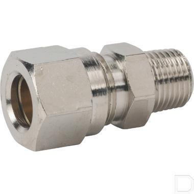 "Rechte klemringkoppeling 4mm 1/8"" productfoto"