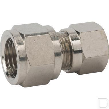 "Rechte klemringkoppeling 8mm 1/4"" productfoto"