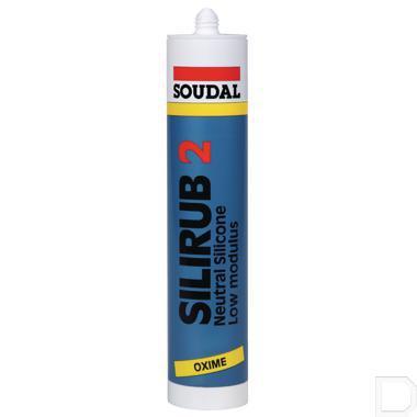 Siliconenkit Silirub 2 310ml zwart productfoto