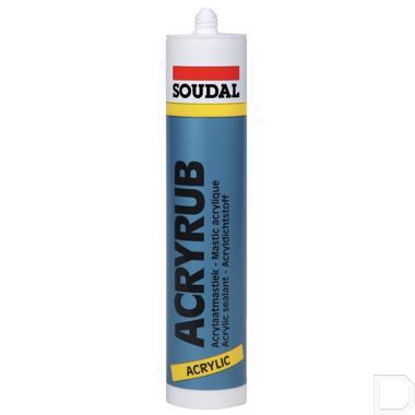 Acrylaatkit Acryrub 310ml wit productfoto