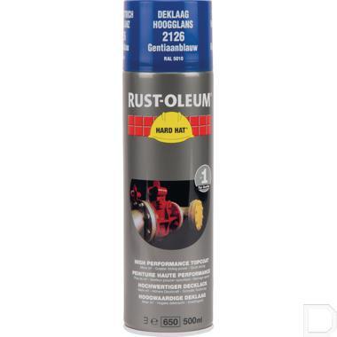 Spuitbus verf RAL5010 gentiaanblauw 500ml productfoto