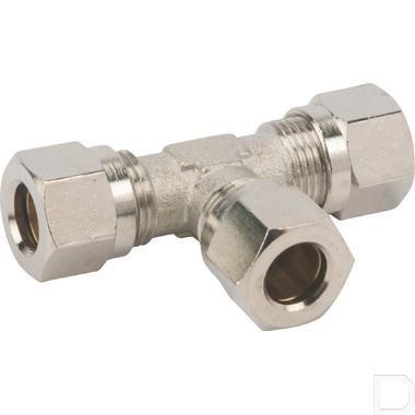 T-koppeling klemring Ø6mm productfoto