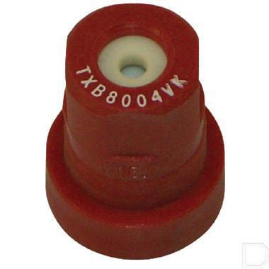 Holle kegeldop TXB 80° rood keramisch productfoto