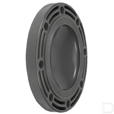 Blindflens 110mm PVC-U productfoto