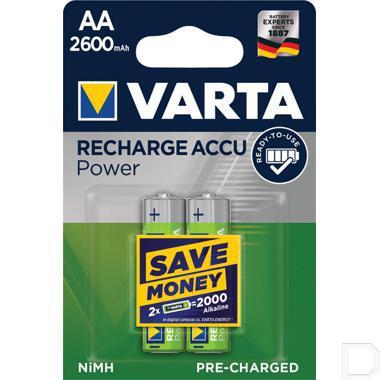 Batterij oplaadbaar HR06 1,2V 2600mAh productfoto